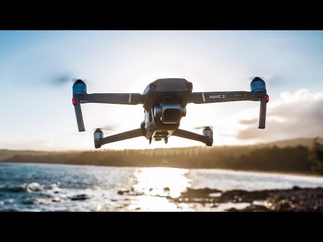 Filmavimas Dronu - Mavic 2 Pro